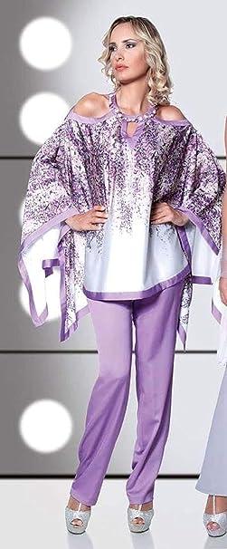 buy popular f5c71 3aac4 Novi Completo Cerimonia Donna, Pantaloni e Casacca, Vestito ...