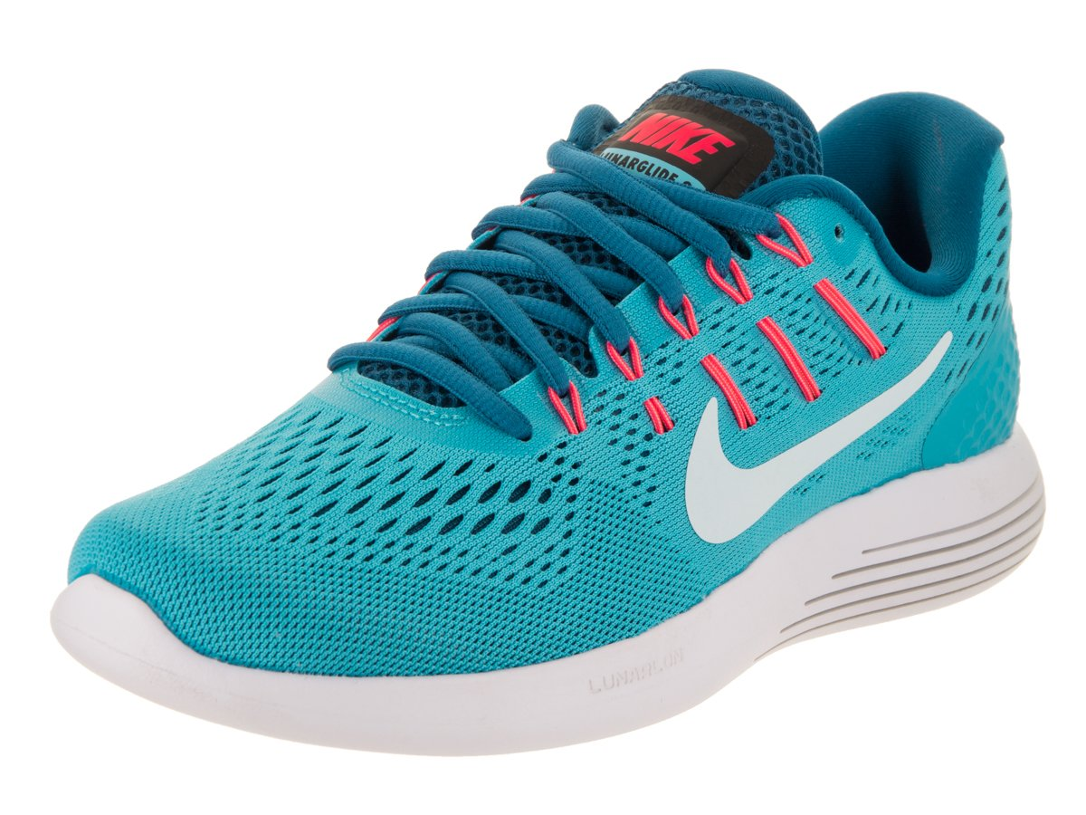 e60fb1ac1d22 Galleon - Nike Women s Lunarglide 8 Chlorine Blue Glacier Blue Running Shoe  7 Women US