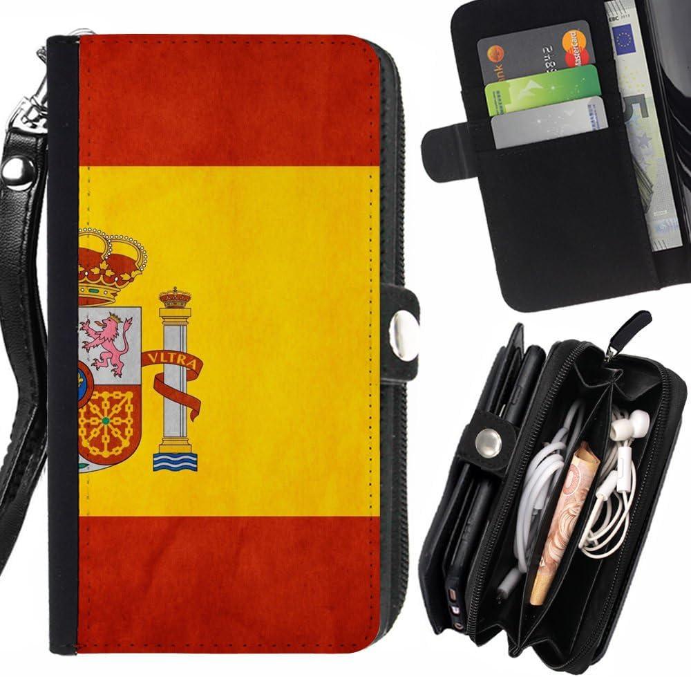 Graphic4You España bandera española Carcasa Funda Monedero Con ...