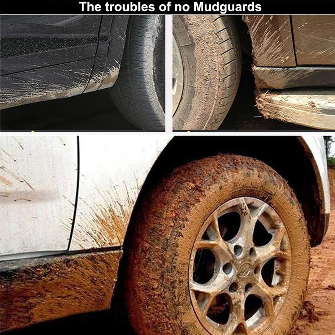 MOERTIFEI Car Mudguard Fender Mud Flaps Splash Guards fit for Nissan Sentra 2013 2014 2015