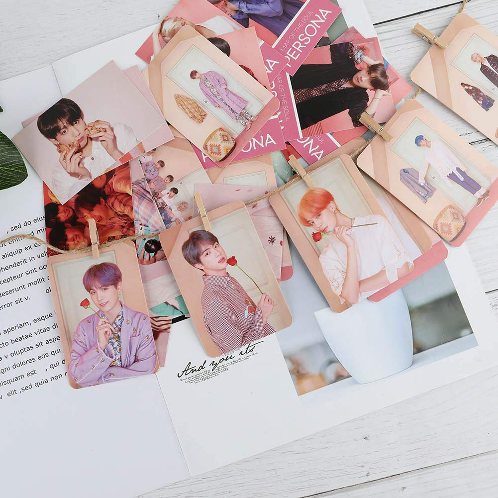 H02 CAR-TOBBY BTS Magazine Lomo Cards Suga Jungkook Photocard Poster Gift UK