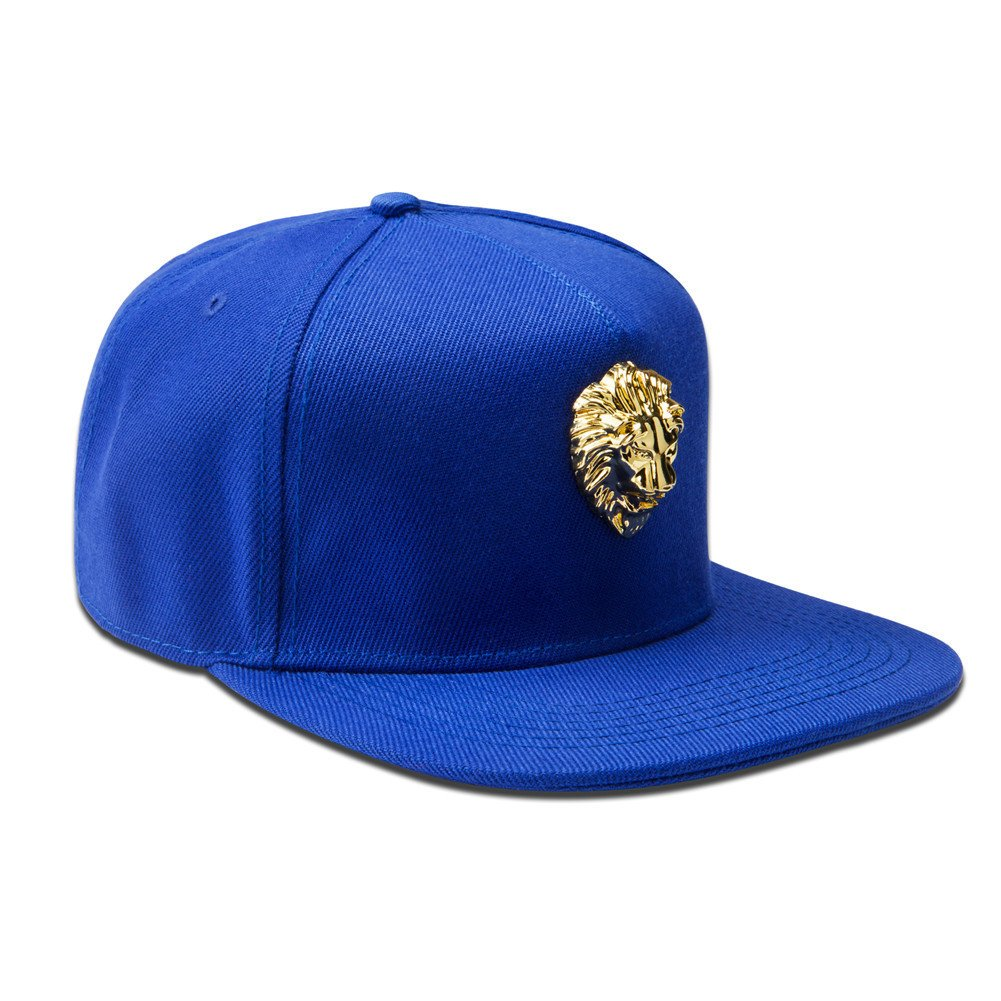 Amazon.com : MCSAYS Hip Hop Style Crsytal Gold Animal Lion Pendant Snapback Cotton Sports Caps Baseball Cap/Hat, Black : Sports & Outdoors