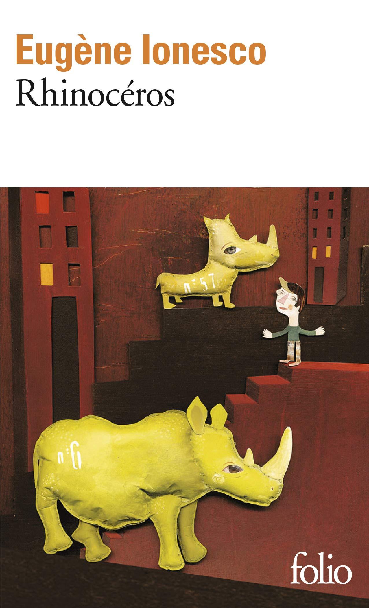 Amazon Fr Rhinoceros Ionesco Eugene Livres