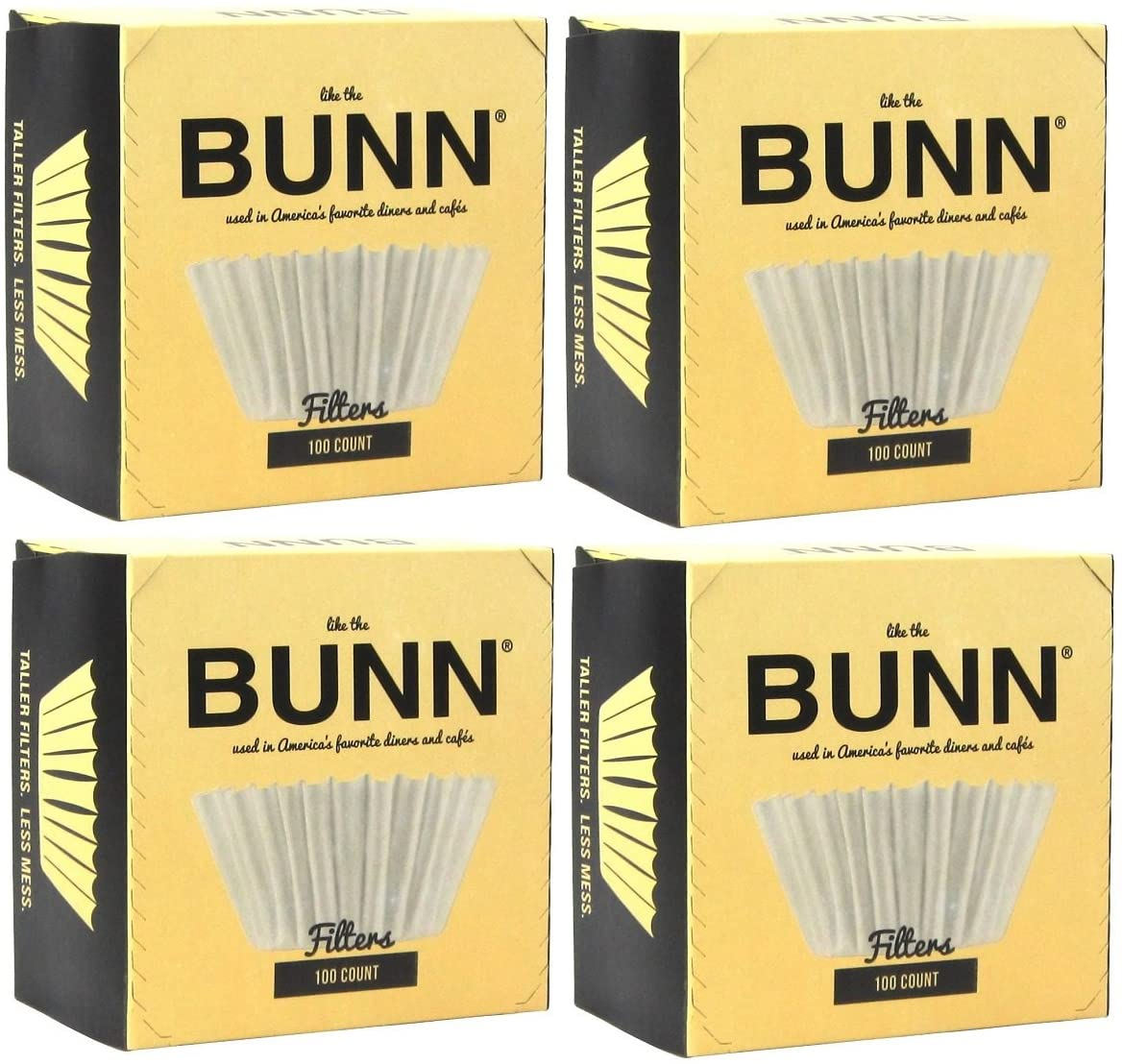 BUNN COFFEE AND TEA FILTERS  100 Count