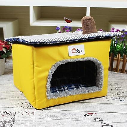 Weiwei Suministros Perro Nido Peluche yurtas Tienda casetas para Mascotas Gato Nido casa para Animales