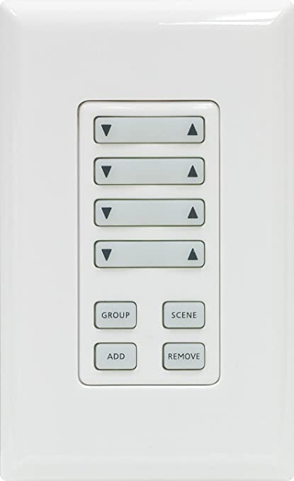 ge 45631 wave wireless lighting. GE 45631 Z-Wave Wireless Lighting Group/Scene Controller, Wall Mount Ge Wave Amazon.ca