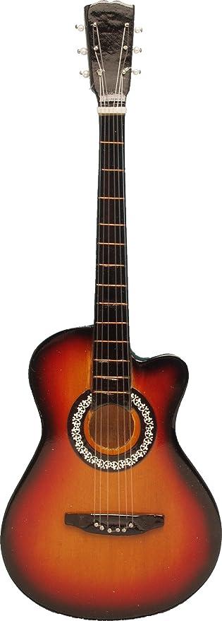 Amazon Com Songbird Essentials Orange Black Acoustic Guitar