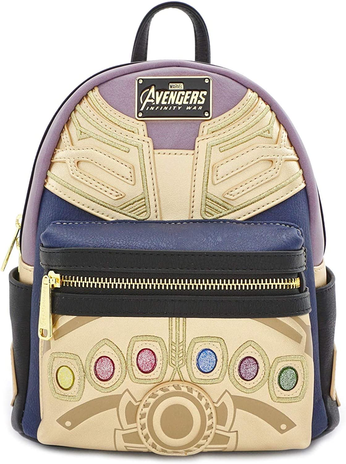 Loungefly x Marvel Avengers Thanos Infinity Stone Mini Backpack