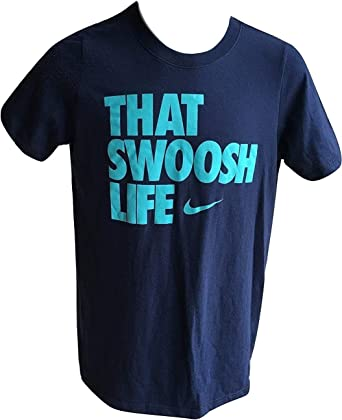 Nike Boys Destroy Excuses Short Sleeve Graphic Print T-Shirt 916729