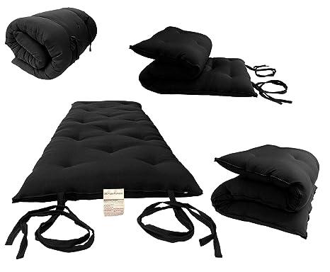 Amazon.com: D&D Futon Furniture Cotton/Foam Floor Rolling ...
