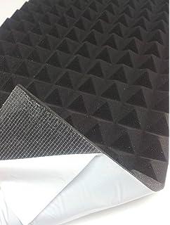 Mail2Mail - Panel de espuma acústica para insonorización (99 x 49 x 4 cm, densidad 30), diseño…