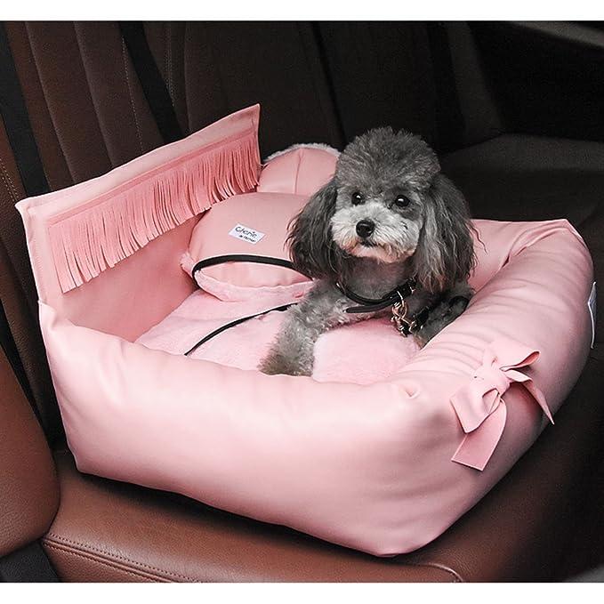 shanzhizui Nido de mascota de Princess Car Cama de perro Suministros para gatos perrera Nido de gato Perros pequeños y medianos Extraíble y lavable: ...
