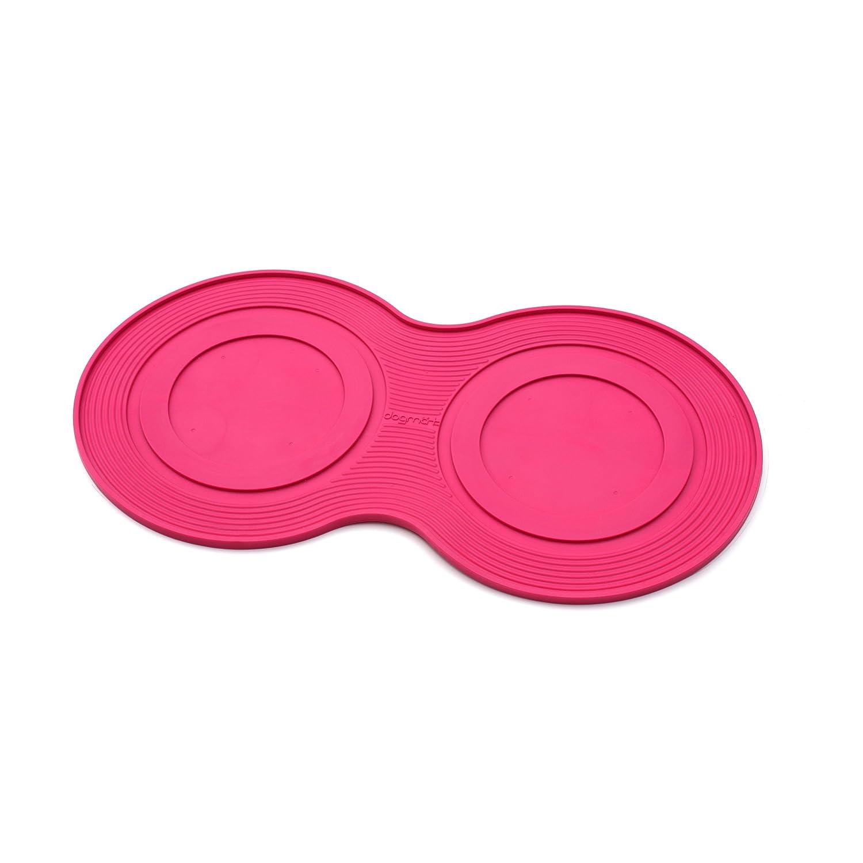 Pink Smallpetprojekt Small Dogmat, Dog Bowl Mat, Pink