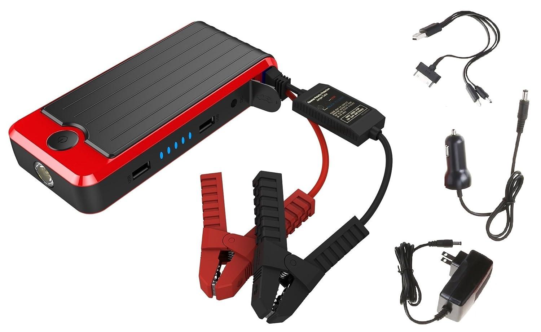 Amazon.com: PowerAll PBJS12000R Rosso Red/Black Portable Power ...