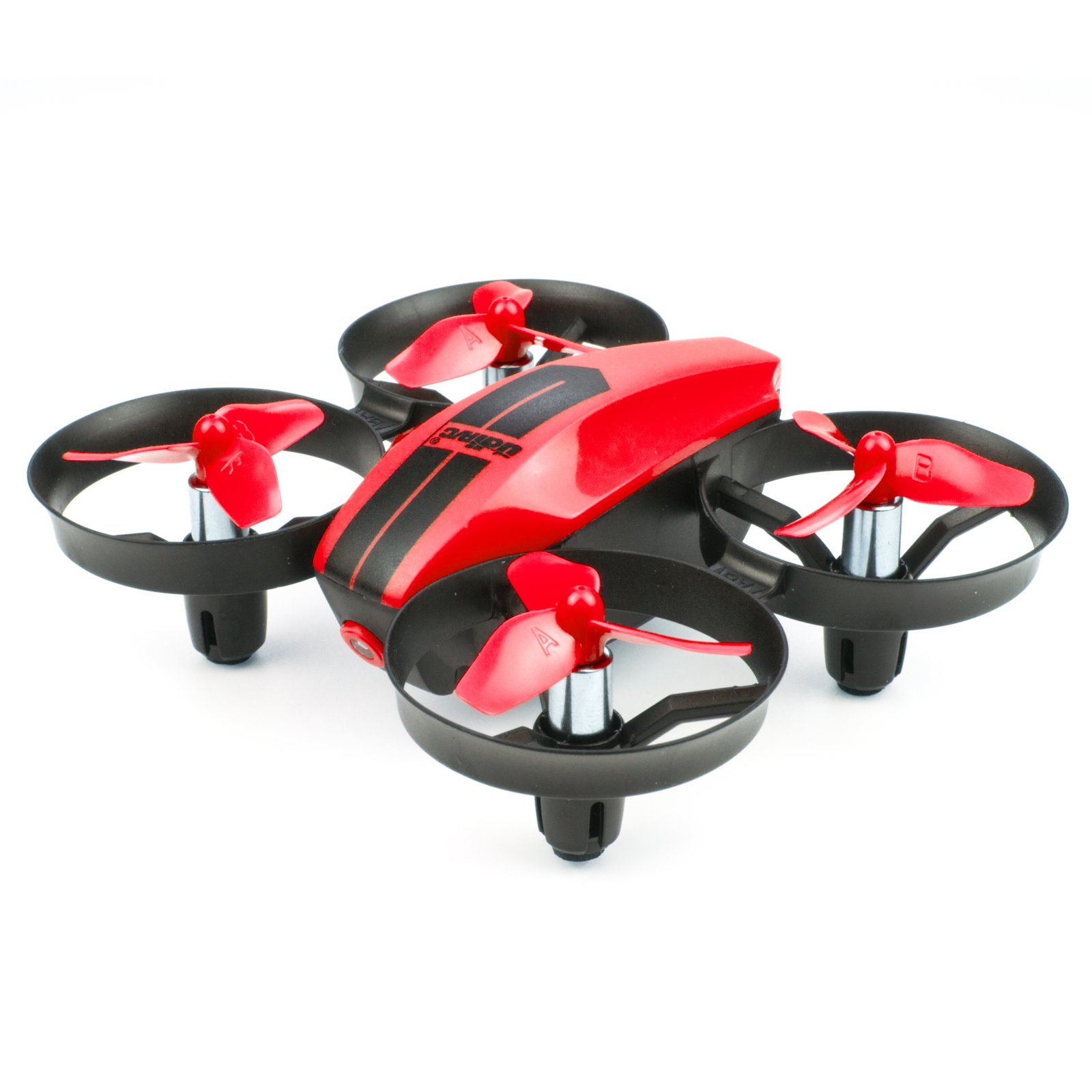 UDI U46 Mini Drone for Kids 2.4G 4CH RC Drones with Altitude Hold Headless Mode One Key Take Off Landing Nano Quadcopter for Beginners Flying Training, Red