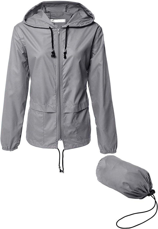Women/' Light weighted Windbreaker Athletic Jacket S-L