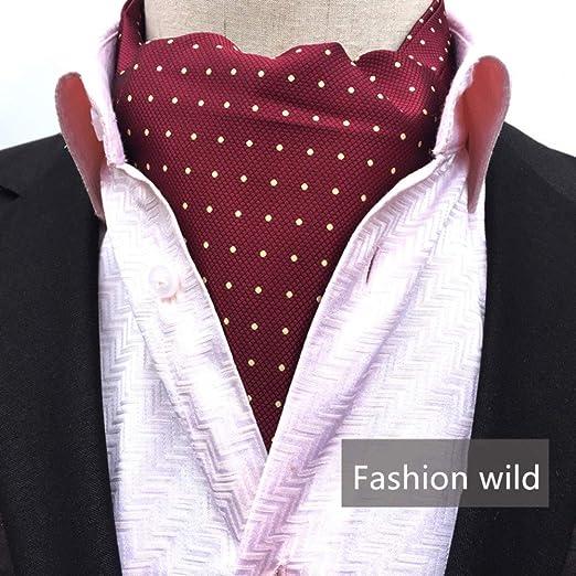 Bufanda de seda de los hombres Corbata de la moda de los hombres ...