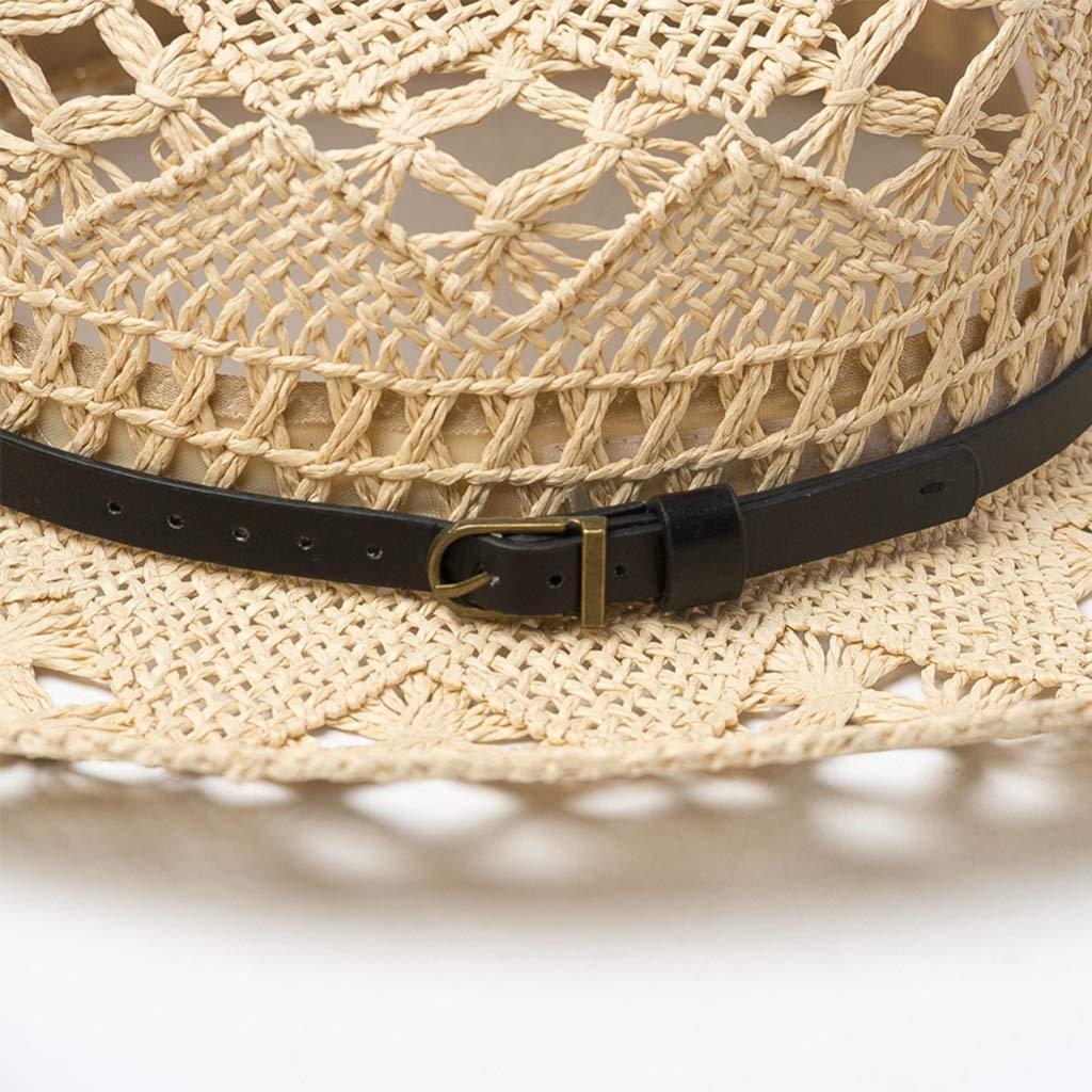 Sun Hats Straw Hat Mens Beach Beach Male Korean Version of The Tide Fashion Summer Big Outdoor