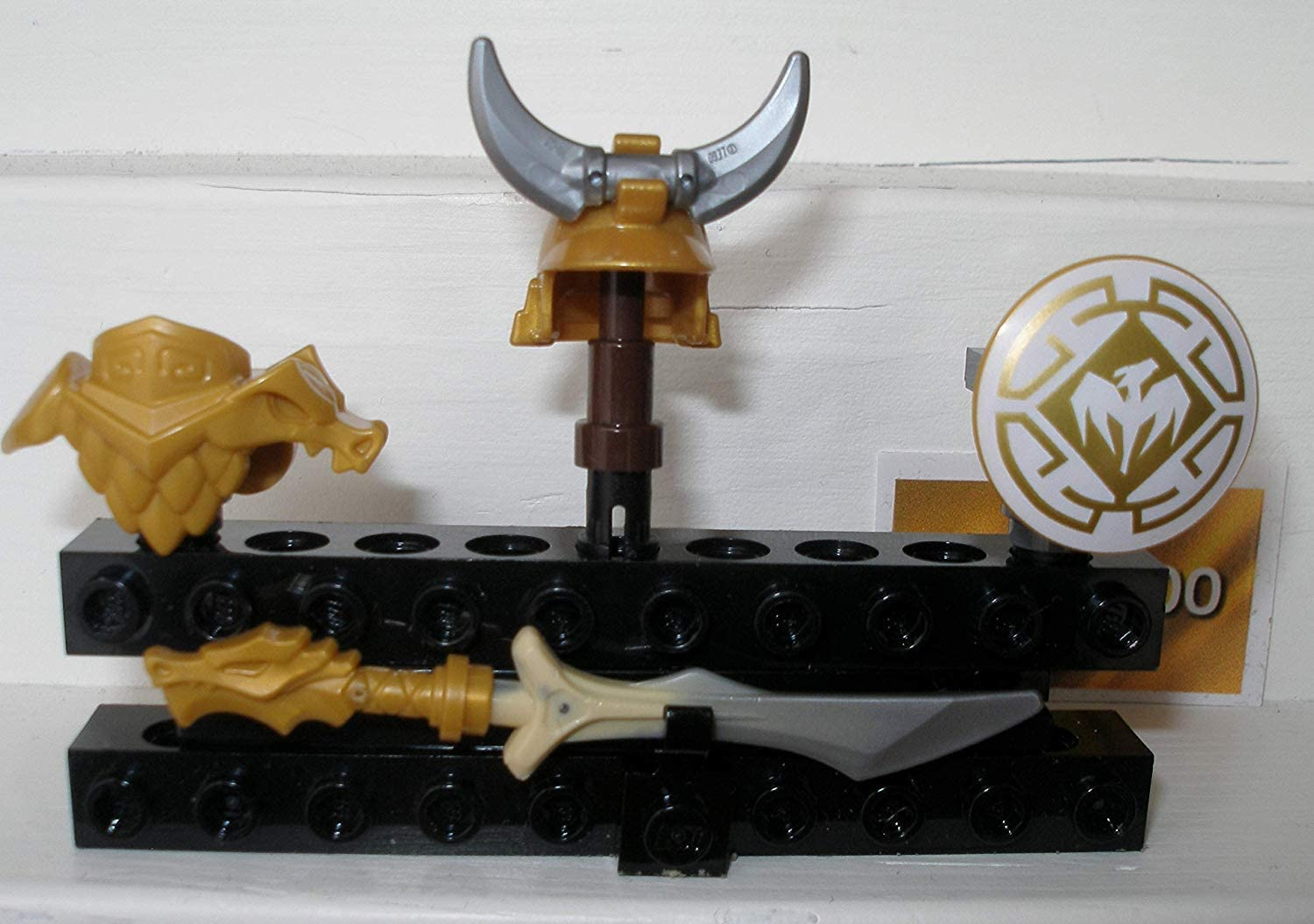 Ninjago 4 Elements Golden Dragon Armor Dragon Master Shield Sword Helmet Chest Armour Weapons Dragon Poster 1 Gold Sticker Amazon De Spielzeug The golden dragon armor( ninjago season 9: ninjago 4 elements golden dragon armor