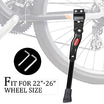 Kickstand de bicicleta - Soporte de bicicleta para bicicleta de montaña y bicicleta de carretera -