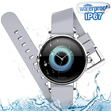 Amazon.com : Waterproof Women Smart Watches with Blood ...