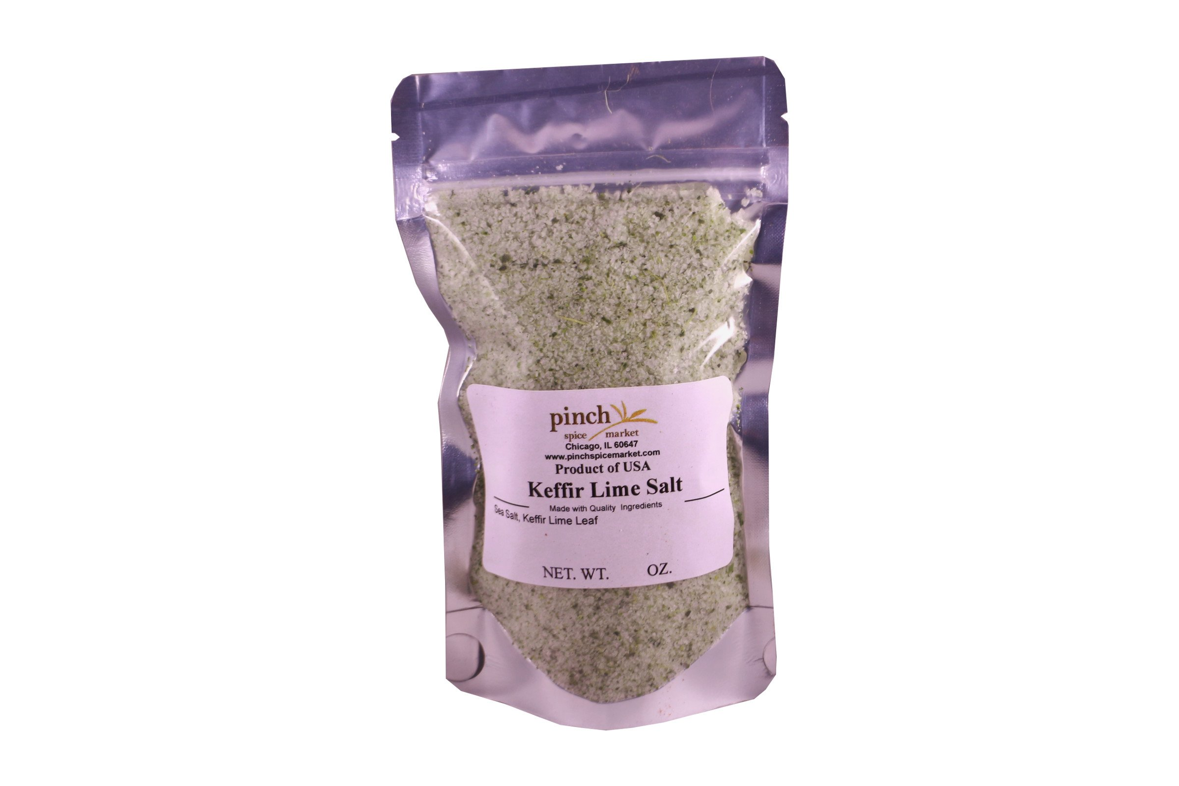 Pinch Spice Market, Keffir Lime Salt, Thai Finishing Salt