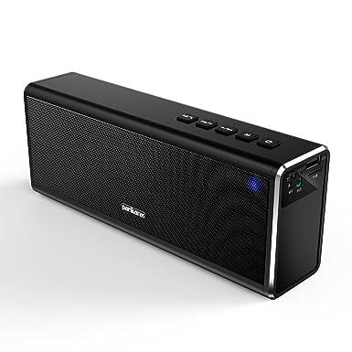 Altavoces Bluetooth, parikaras estéreo altavoz de 20 W (Dual 10 W controladores, doble