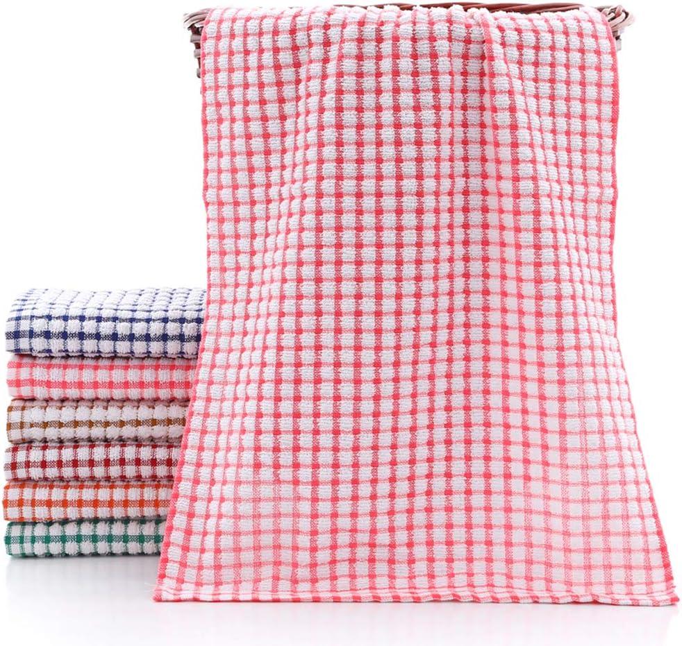 11x16 Inches, Multi Color 24pcs Dish Towels 11 Inch x 16 Inch 100/% Cottton Kitchen Towels YNERHAI Kitchen Dish Towels for Kitchen D/écor, Multi Color