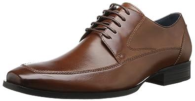 1ebf4239fb2 Steve Madden Men's Sayge Cognac Leather Formal Shoes - 10 UK: Buy ...