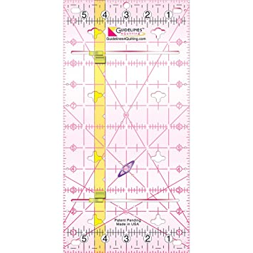 Amazon.com: Guidelines4quilting Guidelines Ruler, 6 by 12-Inch : guidelines for quilting - Adamdwight.com