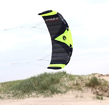    Wolkenstürmer Kite Lenkdrachen Actionkite Lenkmatte PARAFLEX QUAD 1.7  