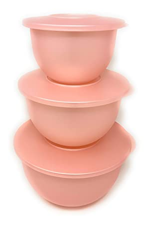 Tupperware Impressions Classic Bowl Set Spring Color New ...