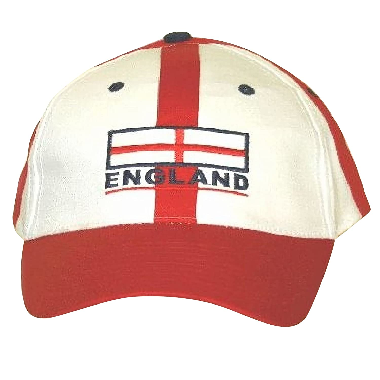 England Baseball Cap Red White With Adjustable Strap UTC325_1