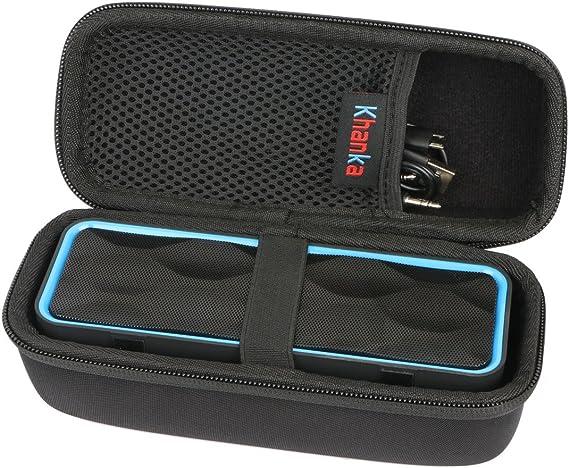 para zoeetree S1 inalámbrica Bluetooth Altavoces, al Aire Libre Altavoz estéreo EVA Duro Viaje Estuche Bolso Funda por Khanka