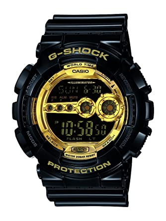 0e4ea41962352 Buy Casio G-Shock Digital Gold Dial Men s Watch - GD-100GB-1DR (G340 ...