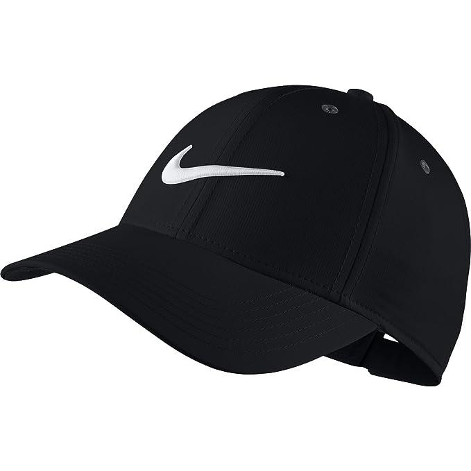 9fca918a1a2b18 Amazon.com: NIKE Kid's Unisex Core Golf Cap, Black/Anthracite/White ...