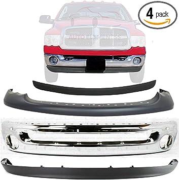 Front Upper BUMPER COVER Textured for 2002-2005 Dodge Ram 1500 2003-2005 Dodge Ram 2500 2003-2005 Dodge Ram 3500