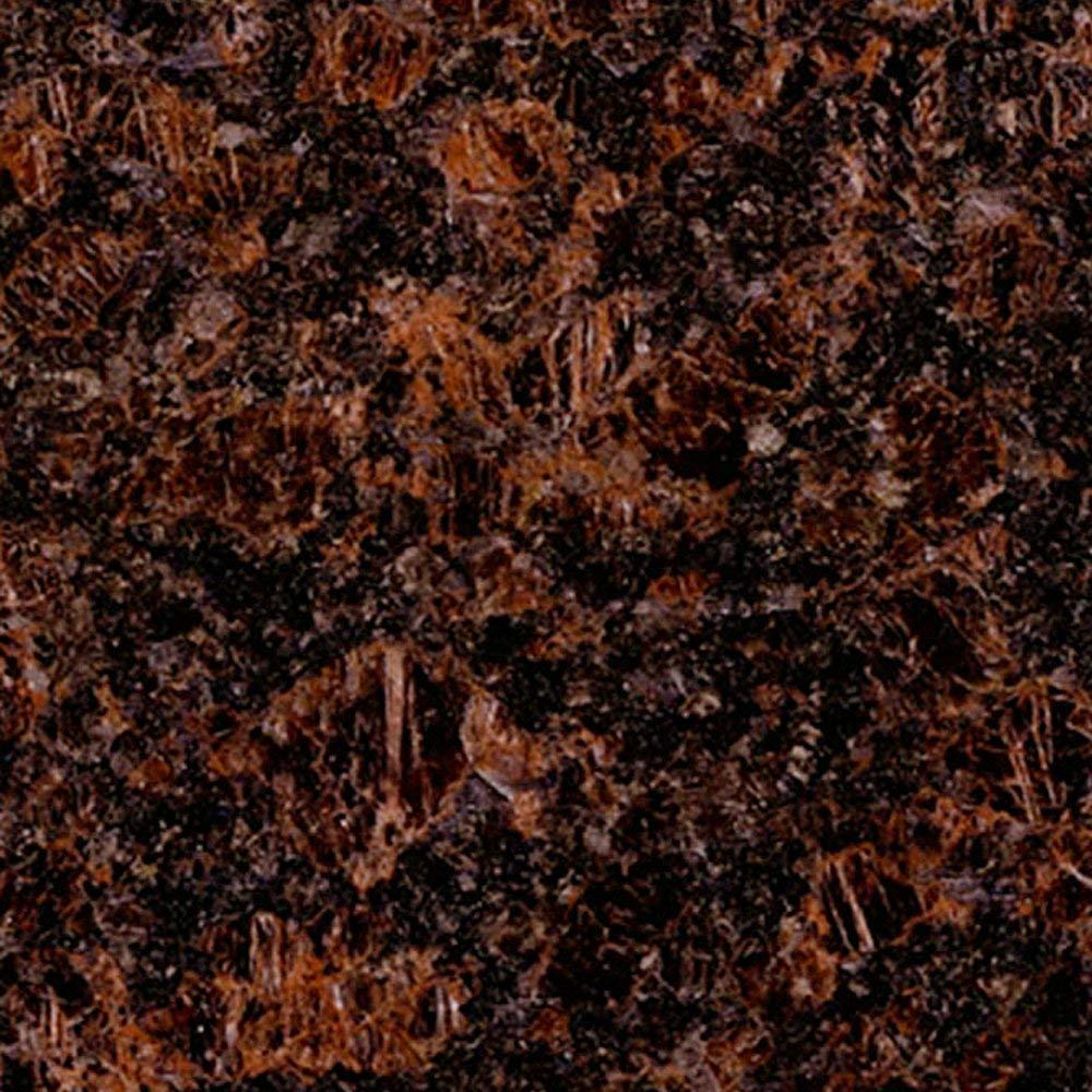 Instant Granite Chestnut Counter Top Film 36'' x 72'' Self Adhesive Vinyl Laminate Counter Top Contact Paper Faux Peel and Stick Self Application