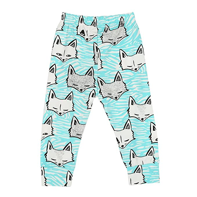 37a3b9c87 EXIU Baby Boys Girls Animal Pattern Harem Pants Trousers Leggings 0 ...