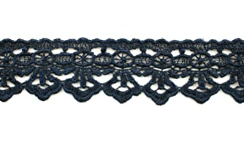 Orange Altotux 1 19 Colors of Embroidered Floral Venice Lace Trim Guipure Trimming By Yard