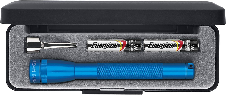 Mini Mag Lite M3a112 Taschenlampe Aaa L 12 5cm Blau F 2micro Beleuchtung