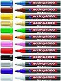 Edding Mattlack-Marker creative 4000 | 12 Farben & Sortierte Editionen als Sparpacks zur Auswahl (12er Komplettpaket, Sortiert)