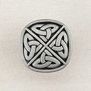 product image for Acorn Manufacturing DQGPP Artisan Collection Celtic Square Knob44; Antique Pewter