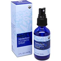 Motherlove Sitz Bath Spray (2 oz.) Convenient Cooling Herbal Mist for Postpartum Vaginal Care – USDA Certified Organic – Soothes Sore Perineal Muscles & Eases Discomfort After Birth
