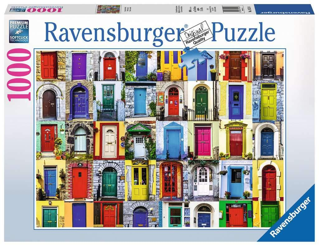 Ravensburger Doors of the World 1000 Piece Jigsaw Puzzle for Adults – Every piece is unique, Softclick technology Means Pieces Fit Together Perfectly