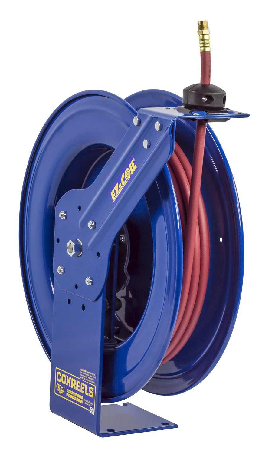 Coxreels EZ-SH-3100 Safety Series Spring Rewind Hose Reel for air/water: 3/8'' I.D., 100' hose, 300 PSI