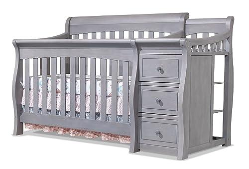 Sorelle Tuscany Crib and Changer Grey