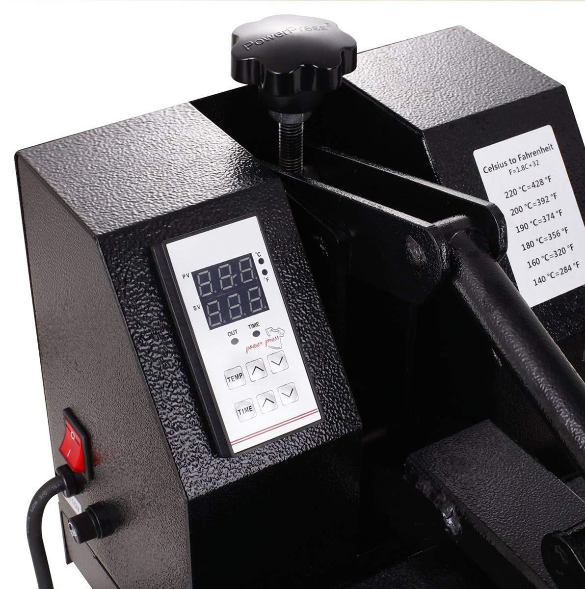 Heat Transfer Pres Heat Press Machine, 15 x 15″ | Made by Bertha