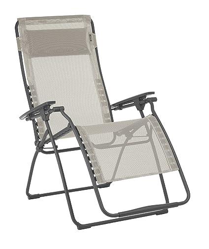 Superb Lafuma Lfm3121 8548 Futura Xl Zero Gravity Recliner Basalt Steel Frame Seigle Batyline Fabric Ibusinesslaw Wood Chair Design Ideas Ibusinesslaworg
