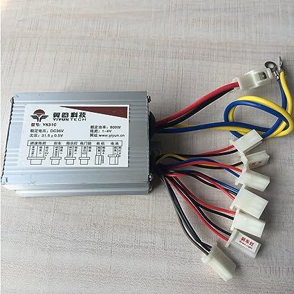 Amazon.com: CHI YUAN - Juego de 9 cables para mando de motor ...